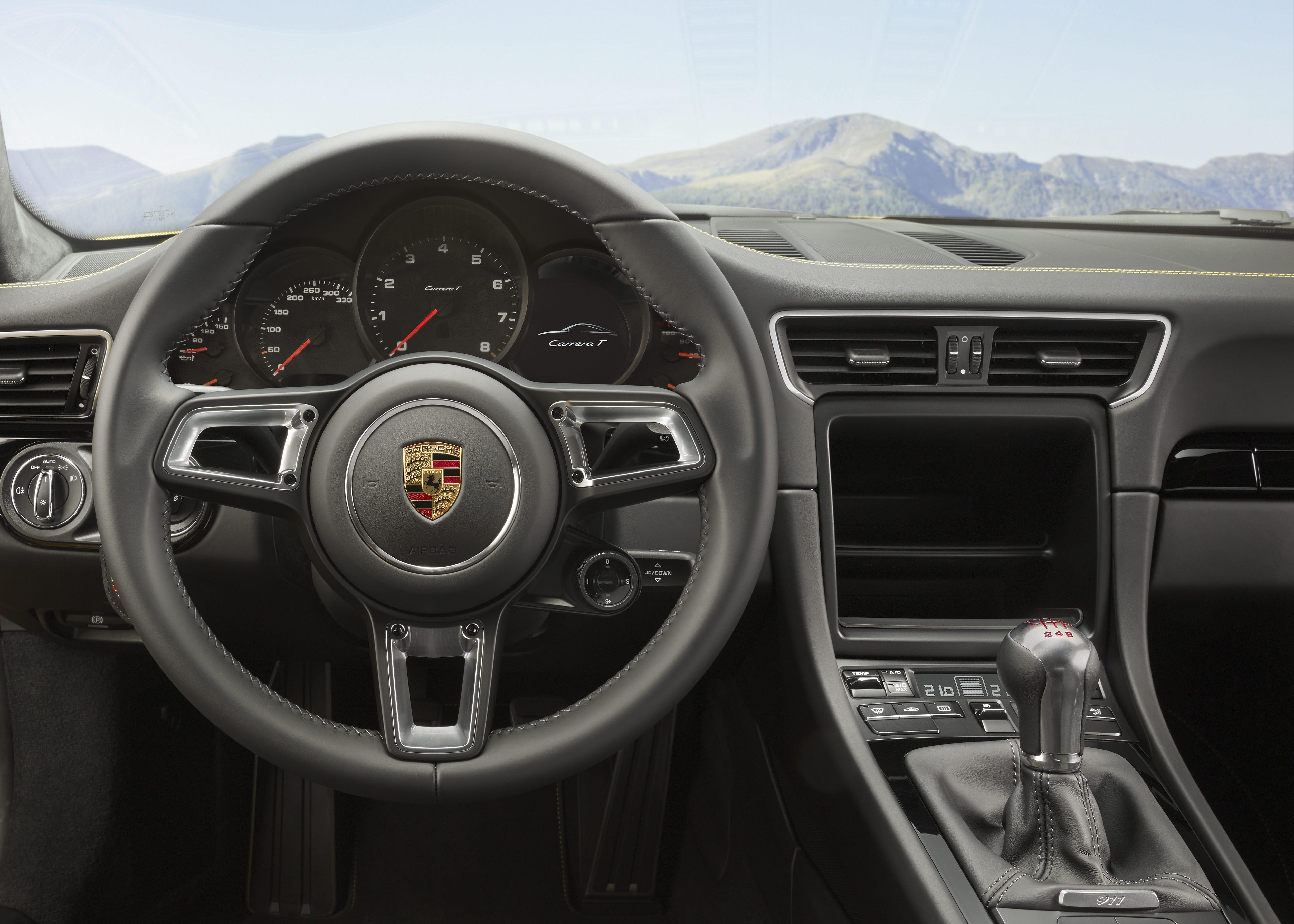 Porsche 911 Carrera T Direksiyon