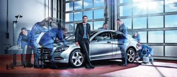 Mercedes-Benz Authorized Services