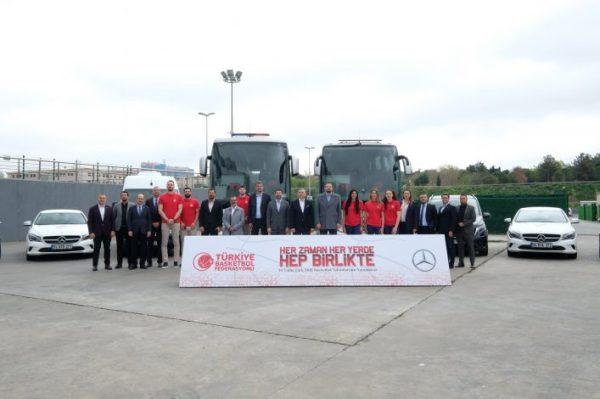 Mercedes-Benz Türk - Türkiye Basketbol Federasyonu İmza Töreni