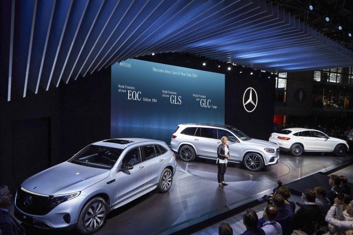 Mercedes-Benz ve Mercedes-AMG, 2019 New York Otomobil Fuarı'nda 3'ü SUV olmak üzere 5 yeni modelini dünyaya tanıttı.