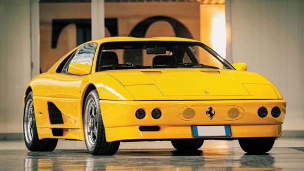 1990 model Ferrari 348 TB Zagato Elaborazione