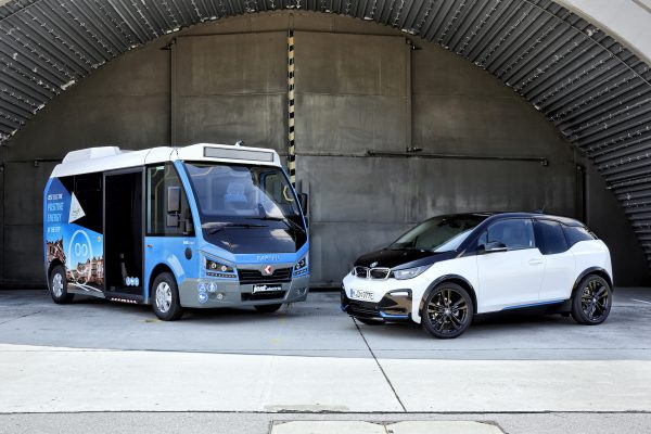 Karsan Jest Bus - BMW i3