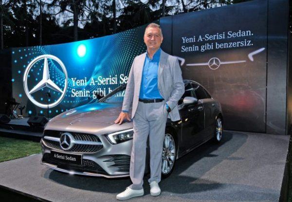 Yeni Mercedes-Benz A-Serisi Sedan ve Mercedes-Benz-Otomobil Grubu İcra Kurulu Üyesi Şükrü Bekdikhan