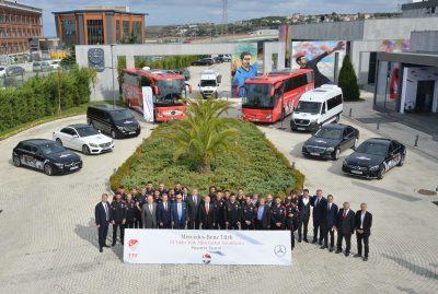 Mercedes-Benz Türk & Türkiye Futbol Federasyonu İmza Töreni